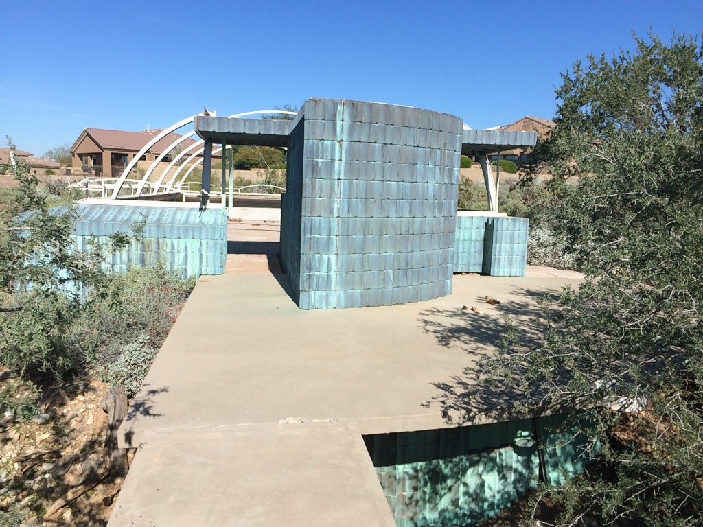 This one is very odd, and now brushing up against suburban Scottsdale, which is inexorably marching toward the edges of the Taliesin property for several sides.