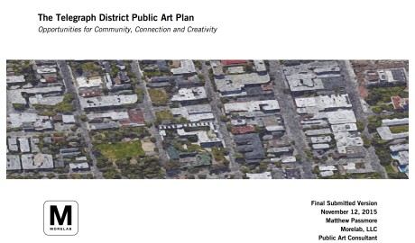 Telegraph District Art Plan